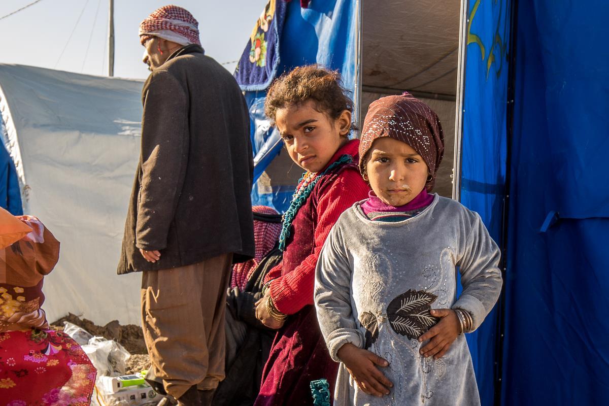 Fra Mosul i Nordirak til en flygtningelejr i Kurdistan